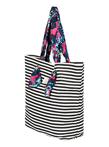 Roxy Act Together - Strandtasche für Frauen ERJBT03091 BRIGHT WHITE BASIC STRIPE