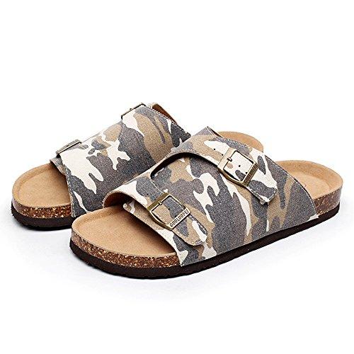 Per Denim Grande E Di Spiaggia Uomo color Haizhen 3 Gli Pantofole Uomini Moda Colori Scarpe Estate Uomini 2 Alla Con Sughero Donne Le UvZn0Xq