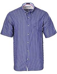 1c130a70f3cc2 PAUL   SHARK Camisa Hombre Dunkelblau Blanco algodón Normal ...