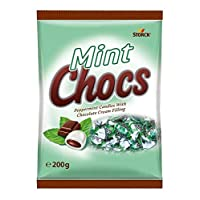 Bunte Welt Peppermint Candies with Chocolate Filling - 200 gm