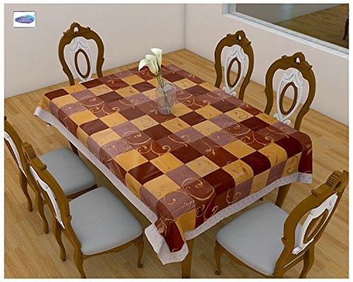 Clasiko-6-Seater-PVC-Table-Cover-Multicolor-Self-Checks-60x90-Inches