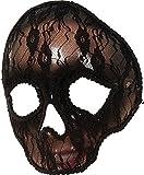 Damen Mexikanisch Maskerade Party Kostüm Zubehör Halloween Totenkopf Maske Spitze