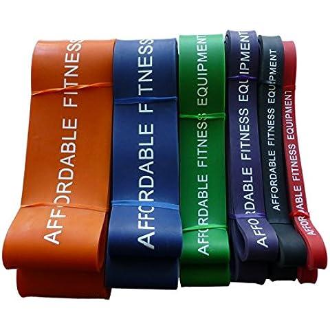 Resistenza Band Per Energia Sollevamento - Crossfit - Pull up - 15 a 80kg (Viola)