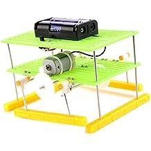 Rishil World DIY Walking Car Kit Handmade Toy Kit Assembly Material Package For Children