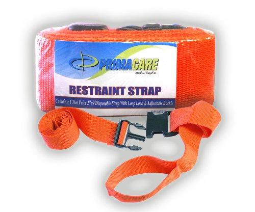 Primacare Sicherheitsgurt mit Schnalle, Orange