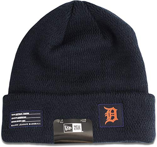 412fcd3d93 New Era Detroit Tigers 2018 On-Field Sport Knit MLB Wintermütze Road, One  Size