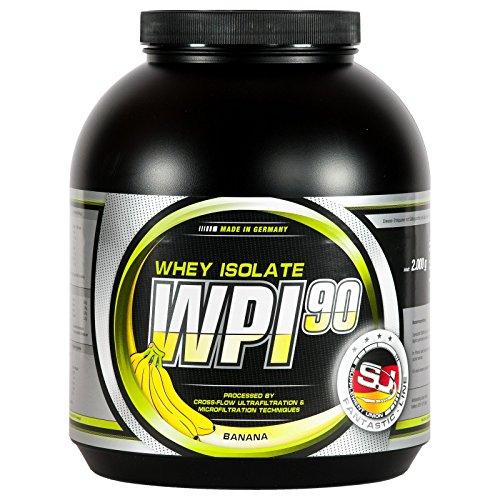 S.U. WPI-90, 100% Whey Isolate, Banane, 2000g - Wpi-whey Protein