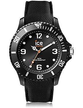 Ice-Watch - ICE sixty nine Black - Schwarze Herrenuhr mit Silikonarmband - 007277 (Medium)
