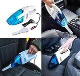 Anva Handheld Mini Super Suction Portable Vacuum Cleaner for Car (Multicolour, Standard)
