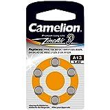 Camelion 15006013 Zink Luft Knopfzellen A13/ZL 13/1,4 Volt, 6er-Pack