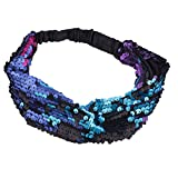 Best Lux Accessories Headbands - Lux Accessories Black Sequin Rainbow Knotted Twist Headwrap Review