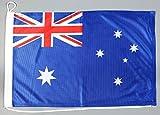 Bootsflagge Australien 30 x 45 cm in Profiqualität Flagge Motorradflagge