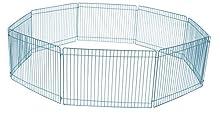 CROCI PADDOCK, Enclos métallique pour rongeurs, Parc pour petits animaux, Dimensions 85x23 cm