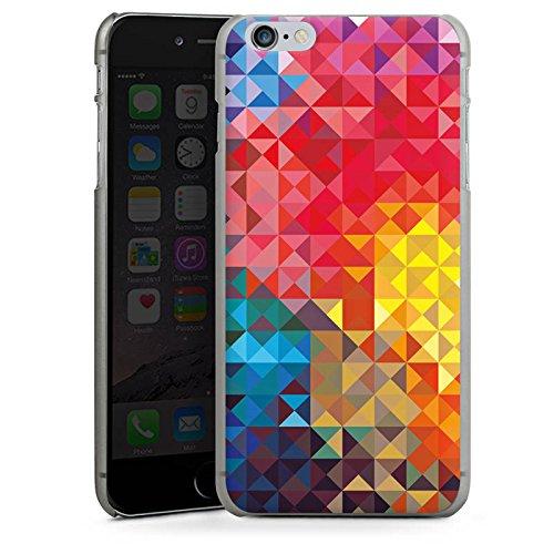 Apple iPhone X Silikon Hülle Case Schutzhülle Bunt Muster struktur Hard Case anthrazit-klar