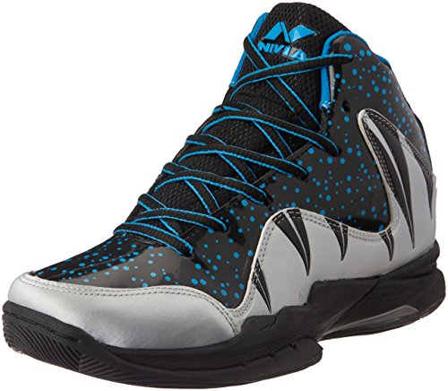 Nivia Heat Basketball Shoes, UK 7 (Grey)  available at amazon for Rs.1187