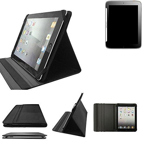 K-S-Trade Medion Lifetab S9512 Schutz Hülle Business Case Tablet Schutzhülle Flip Cover Ultra Slim Bookstyle Tasche für Medion Lifetab S9512, schwarz. Kunstleder Qualitätsware