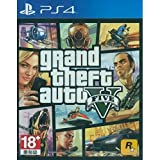 GRAND THEFT AUTO V GTA 5 English, French, Brazilian Portuguese, Korean, Traditional Chinese, Latin American Spanish [Region Free Mutli-language Edition] PS4 Game by Rockstar Games