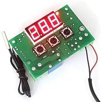 DROK® -50-110 ℃ Termostato Digitale 12V AC / DC Riscaldamento Raffreddamento Regolatore di Temperatura con 1 Meter Sensore Sonda Cavo