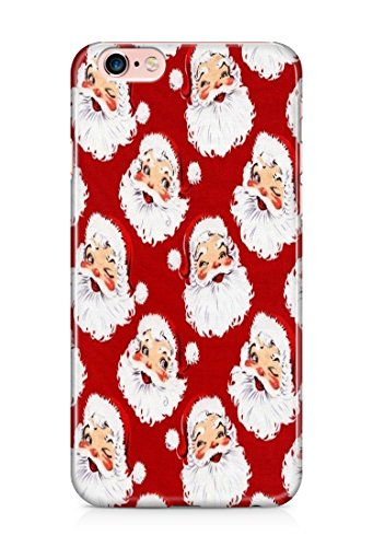 Animate christmas santa claus colorful 3D cover case design for iPhone 7Plus 15