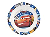 Lulabi 02027 Disney Cars 3 Piatto Fondo in Melamina, 20 cm