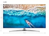 Hisense H65U7BE - Smart TV ULED 65' 4K Ultra HD, Bluetooth, Dolby Vision HDR, HDR 10+, Audio Dolby Atmos, Ultra Dimming, Smart TV VIDAA U 3.0 IA, Compatible con Dispositivos Echo, Mando con micrófono