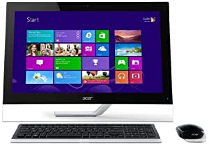 Acer Aspire A7600U 27 inch Touchscreen All in One PC (Intel Core i7 3630 2.4GHz Processor, 8GB RAM, 1TB HDD, Blu-ray, LAN, WLAN, TV Tuner, Nvidia Graphics, Windows 8)