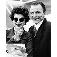 Frank Sinatra 10x 8fotografía de promoción Candid para prensa con Ava Gardner 1950del
