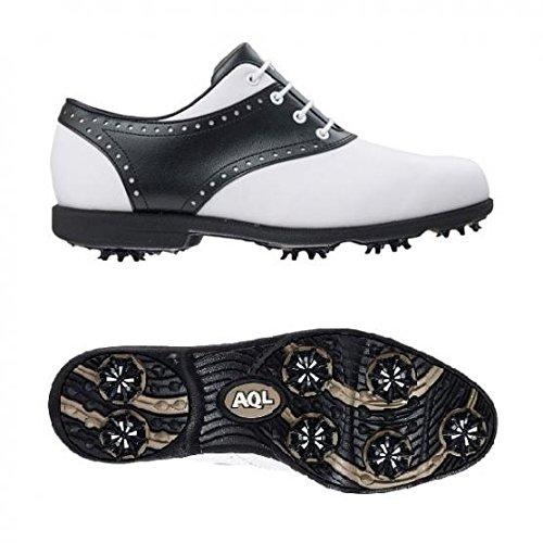 FootJoy AQL Damen Golfschuhe Weiß Schwarz40 1/2