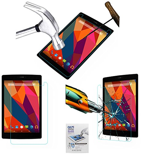 Acm Tempered Glass Screenguard For Micromax Canvas Tab P680 Tablet Screen Guard Scratch Protector  available at amazon for Rs.279