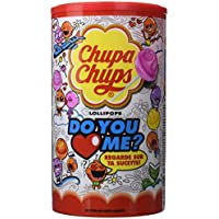 Chupa Chups Tubo de 120 Sucettes Do you Love me -