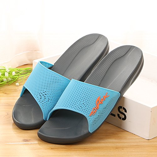 in pantofole per uomini e donne.,43 grey 41 deep blue