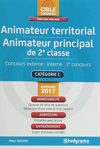 Animateur territorial, animateur principal de 2e classe par Marc Dalens