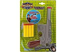 GLOBO- Gun Shooter con 4 Soft Bullets (37596),, 1 (1)