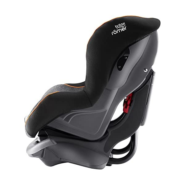 Britax Römer FIRST CLASS PLUS Group 0+/1 (Birth-18kg) Car Seat - Black Marble  This FIRST CLASS PLUS will come in a Black Marble design cover which is made from a more premium fabric with extra detailing Extended recline position when rearward facing - the safest way to travel Reassurance built-in - CLICK & SAFE harness tensioning confirmation 2