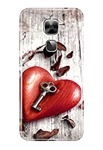 Noise Designer Printed Case / Cover for LeEco Le 2 / Patterns & Ethnic / Key To Love Design - (GD-1354)