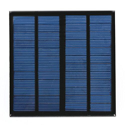 LaDicha Diy 3W 12V 0-250Ma 145X145X 2.5 Mm Solar Panel Polysilizium Solarzelle