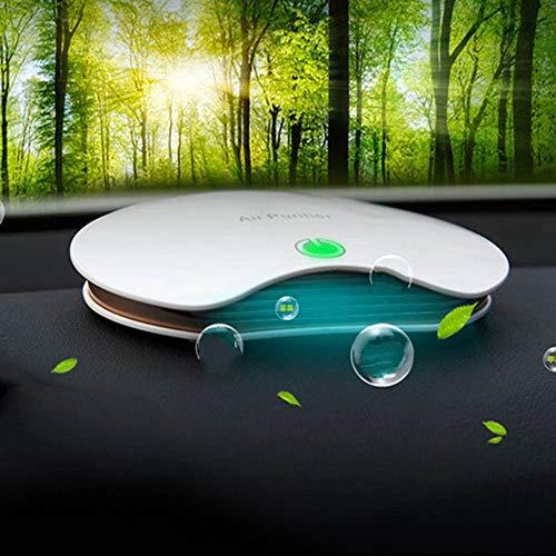 Modenny 5V Ion Negativo Purificador de Aire del Coche Ambientador Eléctrico Coche Ionizador Automibile Desodorante Esterilización Formaldehído PM2.5 Purificador