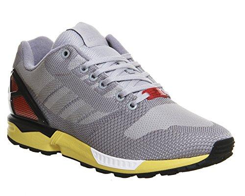 adidas Originals Zx Flux Weave, Chaussures de course mixte adulte Gris - Grau (Clear Onix/Light Onix/Core Black)