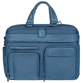 Piquadro  Bolso escolar, 15 L, Azul
