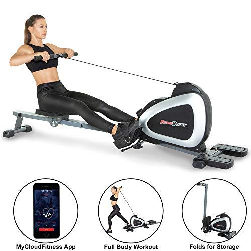 Fitness Reality 1000 Plus Máquina de Remo magnética con...