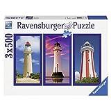 Ravensburger - 16277 2 - Fari. 3 Puzzle Da 500 Pezzi