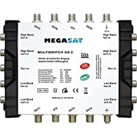 Megasat 0600189–Commutatore 5/8C Argento prezzi su tvhomecinemaprezzi.eu