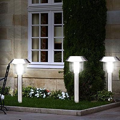 Aussenlampe Gartenlampe Gartenleuchte Aussenleuchte Leuchte Globo 3324 3er Set von Globo - Lampenhans.de