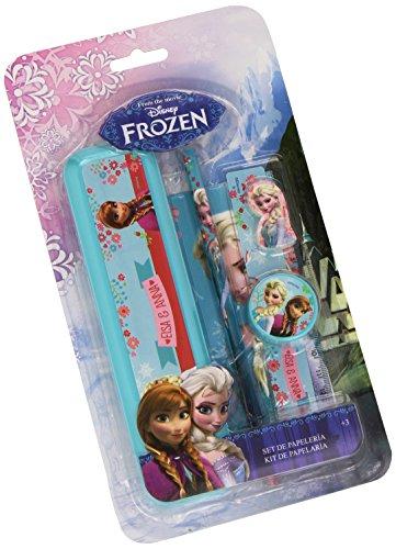 Frozen – Plumier de plástico con Accesorios, 14 x 25 cm (Fantasy FZ0357/AS9171)
