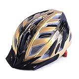 PKNME Mountainbike-Helm Schutzhelm Berg/Straßenfahrhelm integrierte Formgebung,F,(57to63) cm