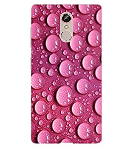 ColourCraft Beautiful Water Drops Design Back Case Cover for GIONEE S6s