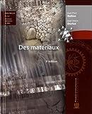 Des matériaux (avec CD-Rom PC), 3e édition