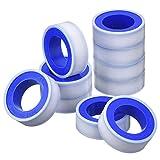 10 Rollen Breite 13,2 m Lang Industrielle Dichtband PTFE Band für Gas Wasser Rohr Fitting Gelenk, 1/ 2 Zoll