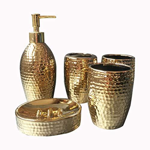 Pack de baño dorado de diseño superlujo modelo DBMGB