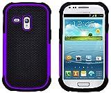 G-Shield Hülle für Samsung Galaxy S3 Mini Stoßfest Schutzhülle (I8190) - Lila